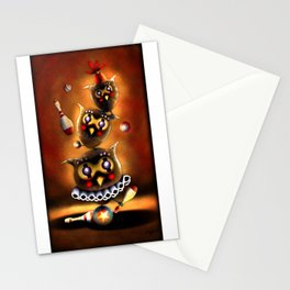 Circus Owls Stationery Cards