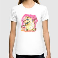 guinea pig T-shirts featuring Guinea Pig Monster by Scalmato Studio