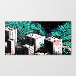 Edge of the City Canvas Print