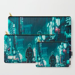 Another Rainy Night ( The Continuous Tale Of The Lost Astronauta) Carry-All Pouch
