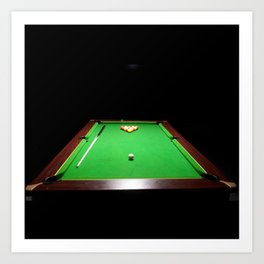 Pool Table Art Print