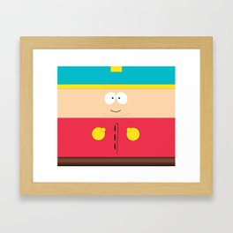Erick Cartman Framed Art Print