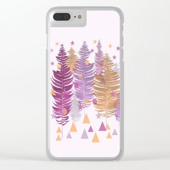 Christmas Trees #buyart #Christmas #Society6 Clear iPhone Case
