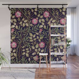 William Morris Sweet Briar Floral Art Nouveau Wall Mural