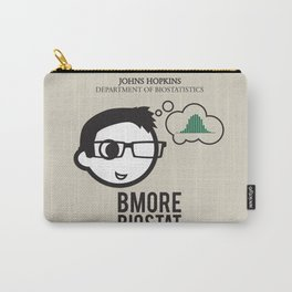 JHU Bmore Biostat | Male Carry-All Pouch