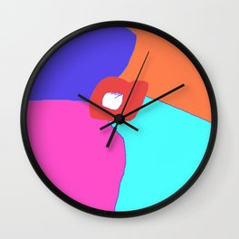 Oliver's Snow Hat Wall Clock