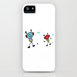 Happy Fluffs iPhone Case