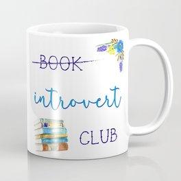 Introvert Club Coffee Mug