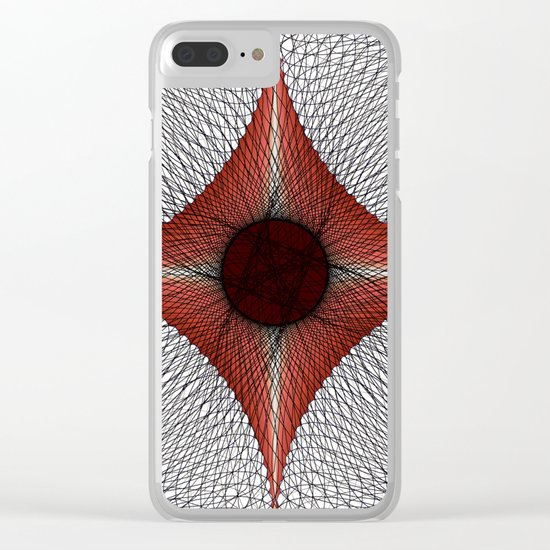 Eye Catcher Clear iPhone Case