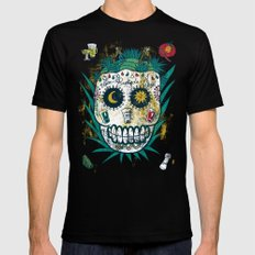Tequila Black Mens Fitted Tee 2X-LARGE