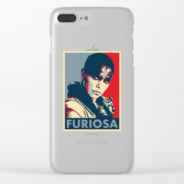 "Imperator Furiosa ""Hope"" Poster Clear iPhone Case"