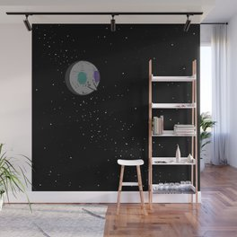Man in the Moon Wall Mural