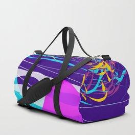 Northern Lights Leviathan Abstract Design Duffle Bag