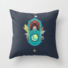 Aquatic Adventurer Throw Pillow