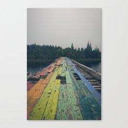 Rainbow Road Canvas Print