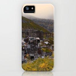 Independence Mine - Hatcher Pass, Alaska iPhone Case