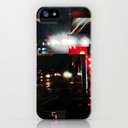 CALZADA DE NOCHE iPhone Case