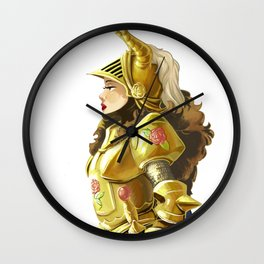 I make my own fortune Wall Clock