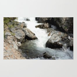 """Where the Mighty Uncompahgre River is But a """"Trickle"""" Rug"""