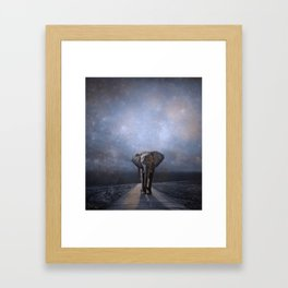 I Walk Alone Framed Art Print