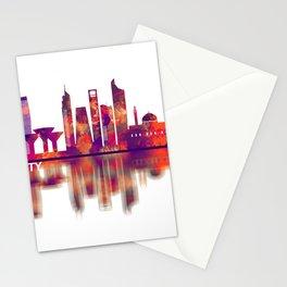 Kuwait City Kuwait Skyline Stationery Cards