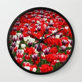 Tulip Sensation Wall Clock