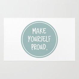 Make yourself proud Rug