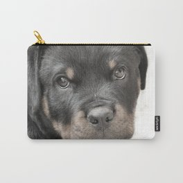 Rottweiler puppy Carry-All Pouch
