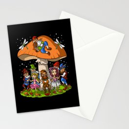 Hippie Gnomes Stationery Cards