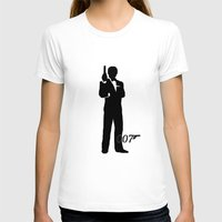 james bond T-shirts featuring JAMES BOND by alexa