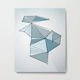 Origami 23 Metal Print