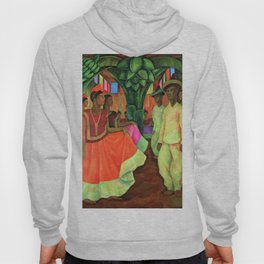Dance in Tehuantepec by Diego Rivera Hoody