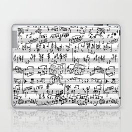 Hand Written Sheet Music Laptop & iPad Skin