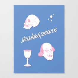 03 / the bard Canvas Print