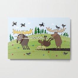 Elks Metal Print