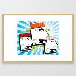 Sushi MrHenk Framed Art Print
