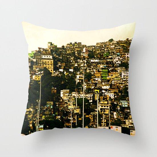 Favela Throw Pillow