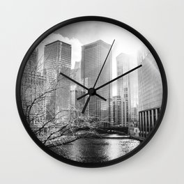 Chicago City Wall Clock