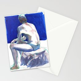 RYAN, Semi-Nude Male by Frank-Joseph Stationery Cards