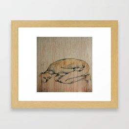 Dips of lust Framed Art Print