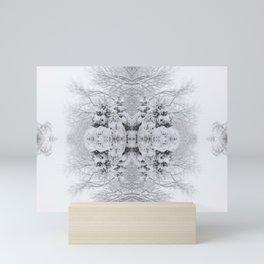 Snow Kaleidoscope | Winter Wonderland Mini Art Print