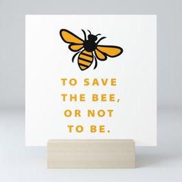 How to Save the Bees Mini Art Print