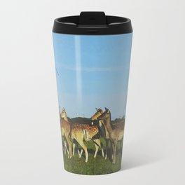 Oh Deer (Artistic/Alternative) Metal Travel Mug
