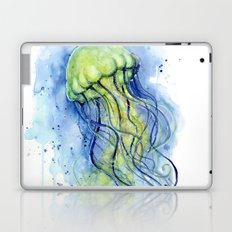 Jellyfish Watercolor Beautiful Sea Creatures Laptop & iPad Skin