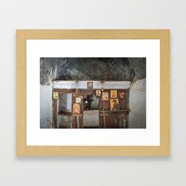 Samarian Church Altar Framed Art Print