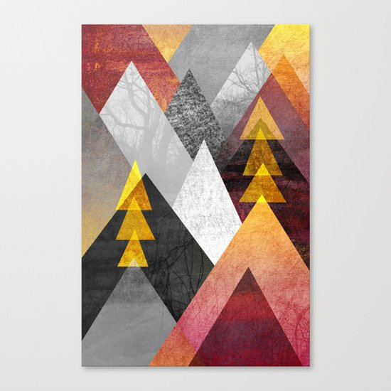 Mountaintops Canvas Print