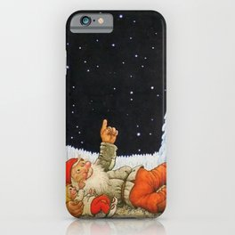 """""""Under the Stars"""" Gnomes by Jenny Nystrom iPhone Case"""