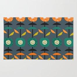 Modern floral decor Rug