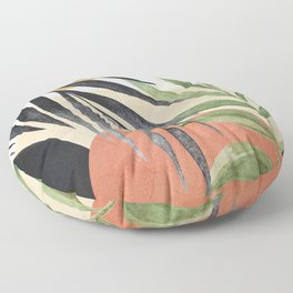 Abstract Tropical Art VI Floor Pillow