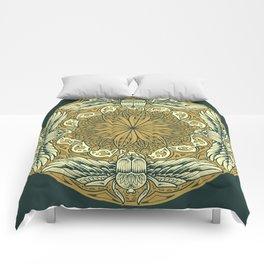 Mandala 9 Comforters